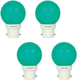 Deco Mini 0.5W LED Bulbs (Green, Pack of 4)
