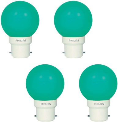 Deco Mini 0.5W LED Bulbs (Green, Pack of 4)