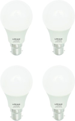 12W B22 LED Bulb (Cool White, Set of 4)