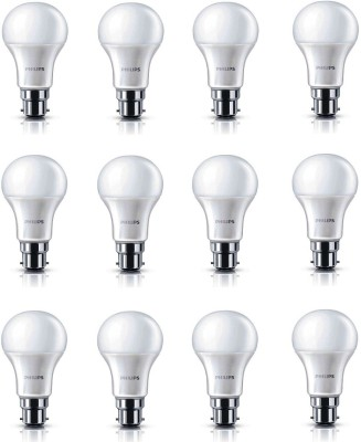 13W 1400L LED Bulb (White, Pack of 12)