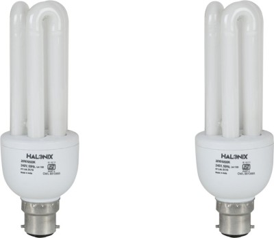 20 W CFL 3U Bulb (Pack of 2)