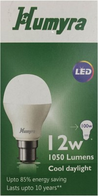 12W B22 LED Bulb (Cool Day Light White)