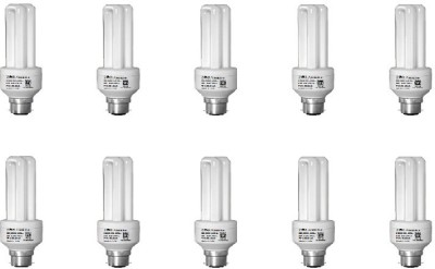 9 W CFL Bulb (White, Pack of 10)