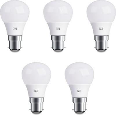 6W Cool White LED Bulbs (Pack Of 5)