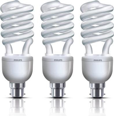 Tornado B22 27W CFL Bulb (Cool Day Light, Pack of 3)