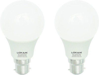 9W B22 LED Bulbs (Cool White, Pack of 2)