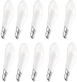 6W Clas A White B22d LED Bulb (Pack of 10)