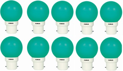 0.5 W FLZG22PL LED Bulb B22 Green (pack of 10)