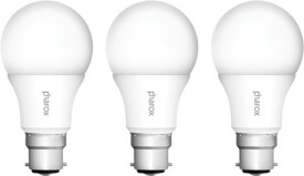 5W B22 Led Bulb (IRO Cool White, Set Of 3)