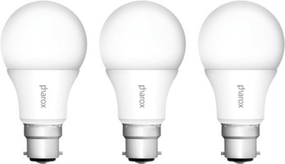 Pharox-9W-IRO-B22-Led-Bulb-(Warm-White,-Set-Of-3)