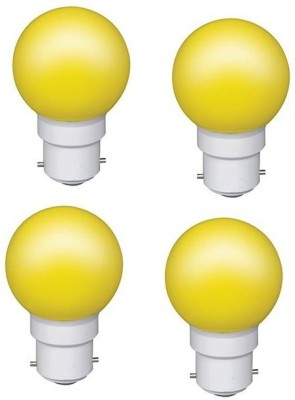 VPL-India-0.5W-Yellow-LED-Bulb-(Pack-of-4)