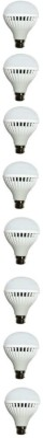 N Safe 7W White LED Bulbs (Pack Of 8)