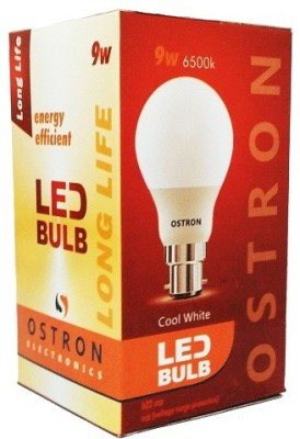 Ostron-9W-B22-LED-Bulb-(White,-Set-of-5)