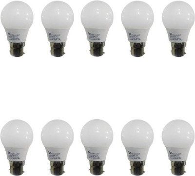 3W LED Bulbs (White, Pack of 10)