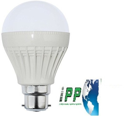 9W B22 Plastic Body White LED Bulb