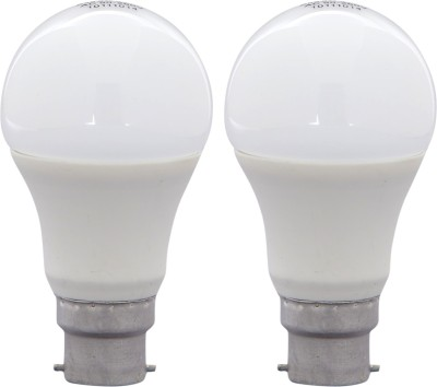 8W B22 LED Bulb (White, Set Of 4)