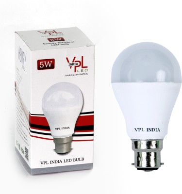5W-Warm-White-LED-Bulb-(Pack-of-2)