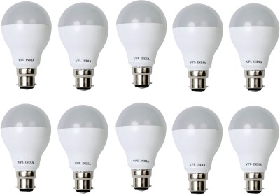 7W Warm White LED Bulb (Pack of 10)
