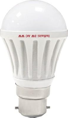 Eco-B22-3W-LED-Bulb-(Warm-White,-Pack-of-3)
