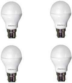 3W Cool White LED Bulb (Pack of 4)
