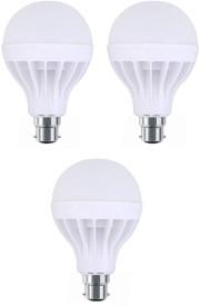 Digilight 3W Plastic Body White LED Bulb (Pack Of 3)