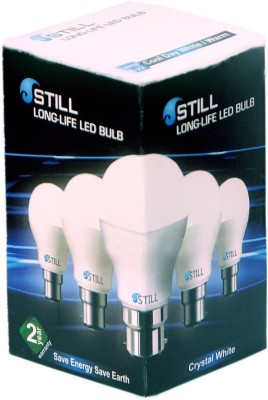Still-5W-B22-LED-Bulb-(White,-Set-of-4)