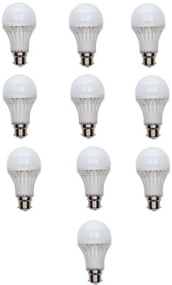 3W White LED Bulbs (Pack Of 10)