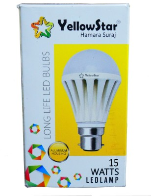 Yellowstar-15W-B22-LED-Bulb-(White,-Set-of-8)