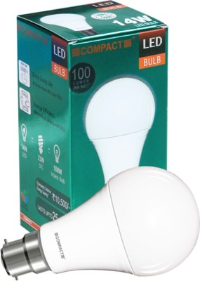 Compact-14W-B22-LED-Bulb-(Warm-White)