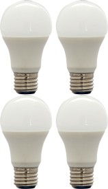 FSL 8W E27 LED Bulb (White, Set Of 4)