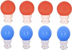 0.5W-Multicolour-LED-Light-(Pack-Of-8)