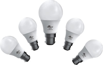 9W 920 lumens White LED Bulb (Pack Of 5)