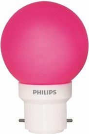 0.5W LED Bulb (Pink, Pack of 5)