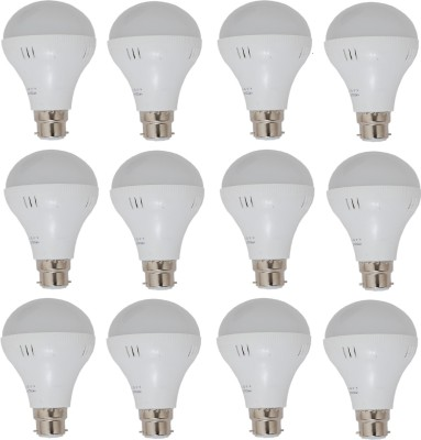24W White LED Bulbs (Pack Of 12)