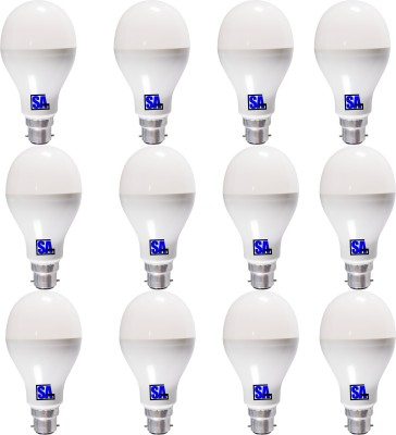 SAG-3W-B22-LED-Bulb-(White,-Set-Of-12)