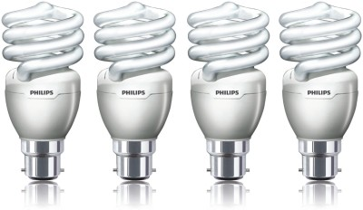 Philips 23 W CFL Pack Of 4 Tornado(Spiral) Bulb Image