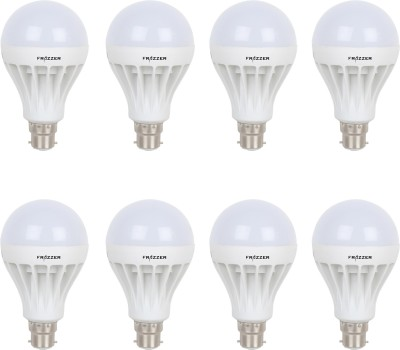 7W White LED Bulbs (Pack Of 9)