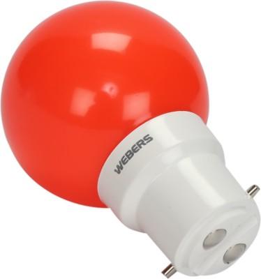 Webers-0.5W-B22-LED-Bulb-(Red,-Set-of-10)