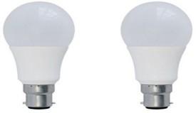 3 W B22 LED Bulb (Yellow, Pack of 2)