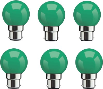0.5W-Green-LED-Bulbs-(Pack-Of-6)-