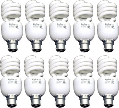 20-W-SP-Lamp-B22-Cap-CFL-Bulb-(Cool-Day-Light,-Pack-of-10)