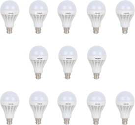 15W Warm White LED Bulb (Pack of 13)