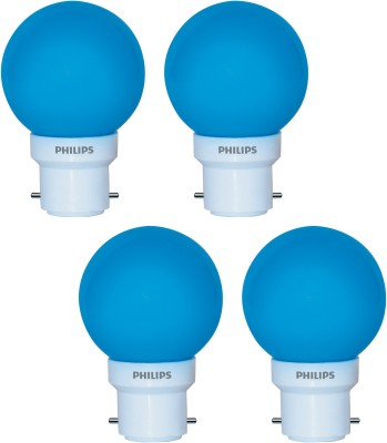 Deco Mini 0.5W LED Bulbs (Blue, Pack of 4)