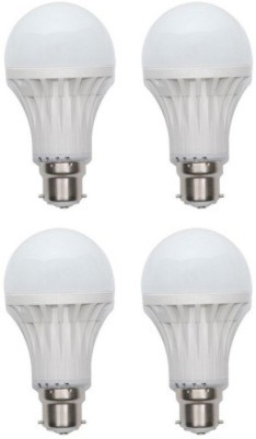 9-W-LED-Bulb-B22-White-(pack-of-4)