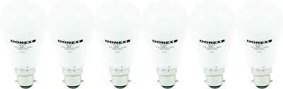 Donex-5W-Aluminium-Body-White-LED-Bulb-(Pack-of-6)