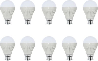 12W White LED Bulb (Pack of 10)