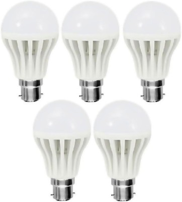 Warm Lights 9 W LED Bulb Pack Bulb Image