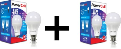 PowerCell-7W-600-Lumens-LED-Bulb-(White)-[Pack-of-2]