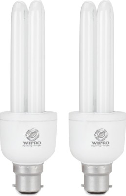 Duo 15 Watt CFL Bulb (Cool Day Light,Pack of 2)