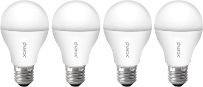 9W B22 Led Bulb (Apollo Cool White, Set Of 4)